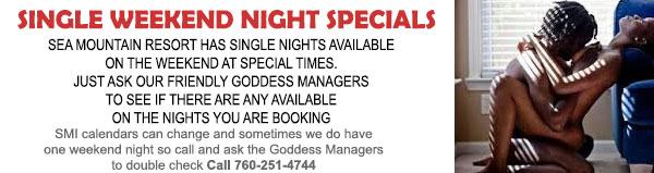 Sea Mountain Nude Lifestyles Spa Resort - Single Weekend Nught Specials